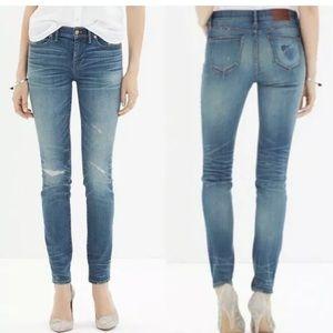 Madewell Rip and Repair skinny jeans 👖